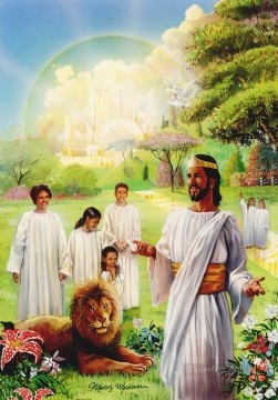 Jesus photoshop religious Christian Oil Paintings