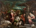 Adoration of the Magi Jacopo Bassano dal Ponte Christian Catholic