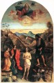 Baptism of Christ religious Giovanni Bellini