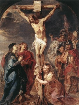 Artworks in 150 Subjects Painting - Christ on the Cross 1627 Peter Paul Rubens