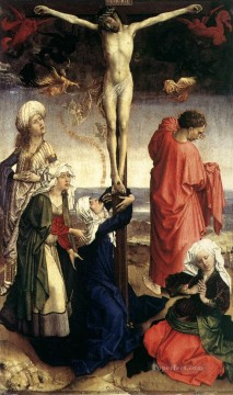 Crucifixion religious Rogier van der Weyden religious Christian Oil Paintings