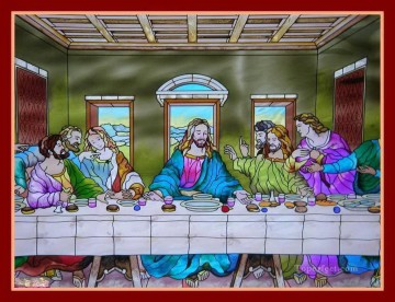 last supper Painting - Last Supper 27 religious Christian