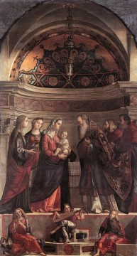Presentation of Jesus in the Temple religious Vittore Carpaccio religious Christian Oil Paintings
