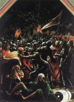 The Arrest Of Christ Flemish religious Denis van Alsloot Oil Paintings