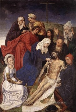 The Lamentation Of Christ religion Hugo van der Goes Oil Paintings