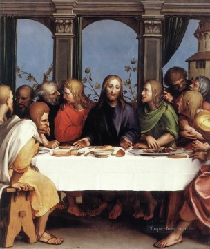 last supper Painting - The Last Supper Hans Holbein the Younger religious Christian