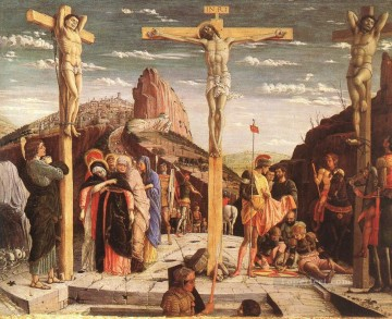 Crucifixion painter Andrea Mantegna religious Christian Oil Paintings