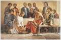 Jesus Washing The Apostles Feet religious Christian