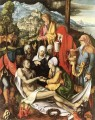 Lamentation for Christ religious Albrecht Durer