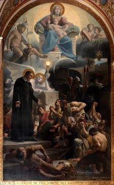 Artworks in 150 Subjects Painting - Saint Vincent de Paul ramene des galeriens a la foi Jean Jules Antoine Lecomte du Nouy Christian