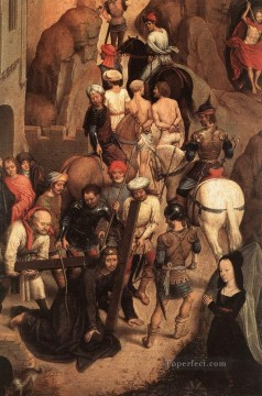 Scenes from the Passion of Christ 1470detail3 religious Hans Memling Oil Paintings