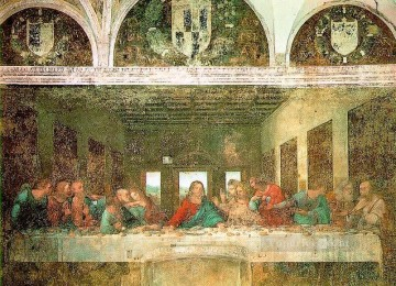 Vinci Oil Painting - The Last Supper Leonardo da Vinci religious Christian