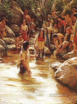 waters of mormon Catholic Christian Oil Paintings