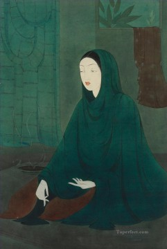 Abdur Rahman Chughtai 09 religious Islam Oil Paintings