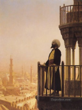 rome Painting - The Call to Prayer Arab Jean Leon Gerome Islamic