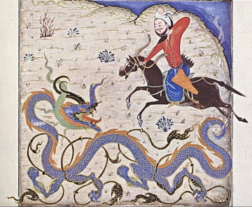 dragon Painting - dragon religious Islam