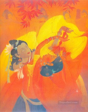 Abdur Rahman Chughtai 08 religious Islam Oil Paintings