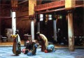 Prayer in the Mosque Arab Jean Leon Gerome Islamic
