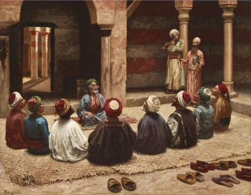 THE DHIKR by Eugene Baugnies Islamic Oil Paintings