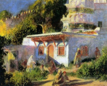 mosque in algiers Pierre Auguste Renoir Islamic Oil Paintings