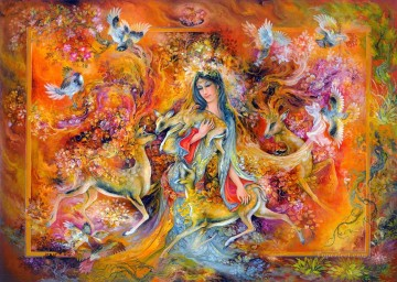 Calor del amor religious Islam Oil Paintings