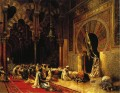 Interior of the Mosque at Cordova Persian Egyptian Indian Edwin Lord Weeks Islamic