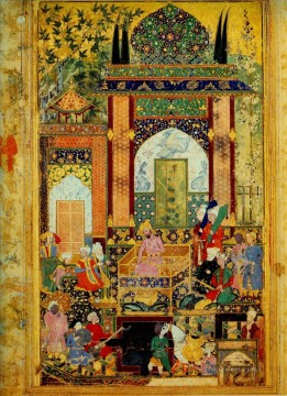 Islamic Miniature 15 Oil Paintings