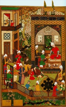 Islamic Miniature 17 Oil Paintings