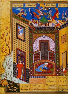 Artworks in 150 Subjects Painting - Miniature 13 Islamic