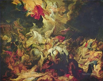 Religious Painting - Peter Paul Rubens on anniversary of american invasionism religious Islam