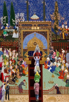 Islamic Painting - jameel prize religious Islam