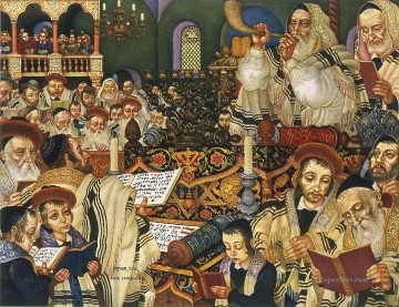 Holidays Jewish Oil Paintings