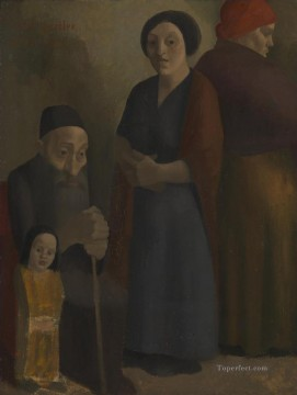Jewish Family Jewish Oil Paintings