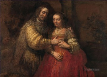The Jewish Bride Rembrandt Jewish Oil Paintings