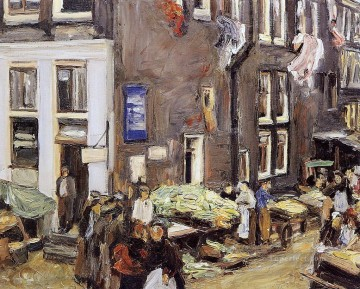 jewish quarter in amsterdam 1905 Max Liebermann Oil Paintings