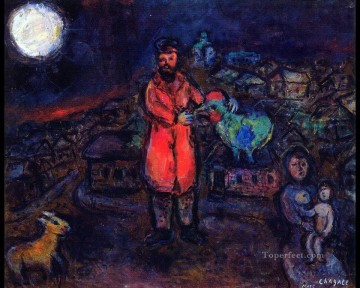 Village MC Jewish Oil Paintings
