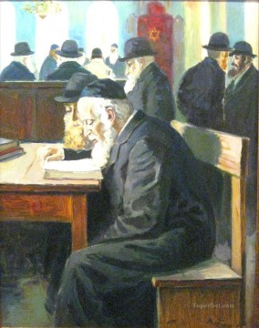 reading Jewish Oil Paintings
