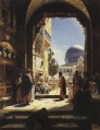 At the Entrance to the Temple Mount Jerusalem Gustav Bauernfeind Orientalist Jewish
