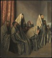 Jews Mourning in a Synagogue by Sir William Rothenstein Jewish
