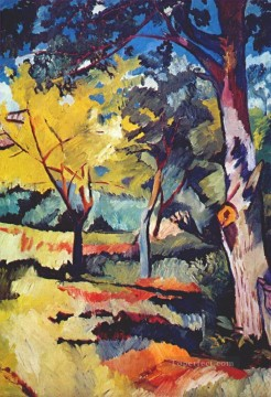 Russian Painting - landscape at ladyzhino Russian