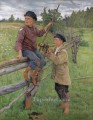 country boys Nikolay Belsky Russian
