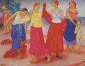 girls on the volga 1915 Kuzma Petrov Vodkin