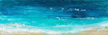 Reach the Shore abstract seascape Oil Paintings