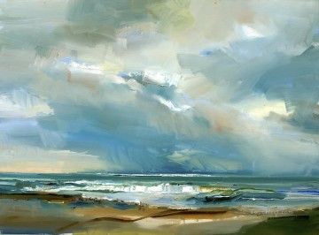 abstract seascape 008 Oil Paintings