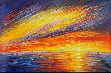 abstract seascape 044 Oil Paintings