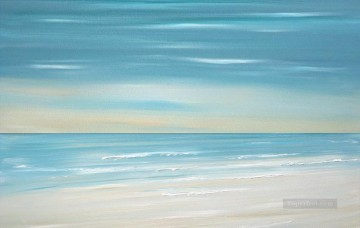 beach ocean wave abstract seascape Oil Paintings