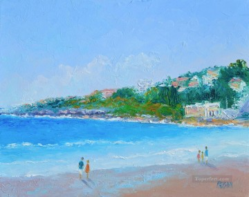 coogee beach abstract seascape Oil Paintings