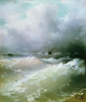 Seascape Painting - Ivan Aivazovsky sea Ocean Waves