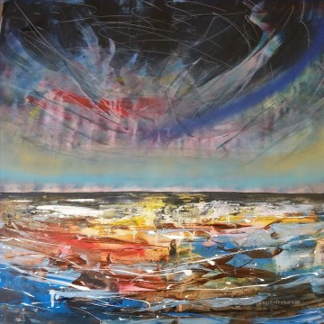 abstract seascape 013 Oil Paintings