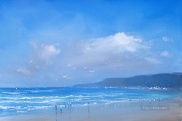 beach bay abstract seascape Oil Paintings